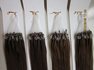 100% Indian Virgin Remy Double Drawn Micro Ring/Loop Hair Extension