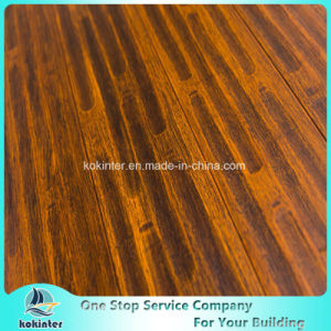 First Quality Indoor Usage Strand Woven Bamboo Flooring in Cheapest Price and Antique Brushed Brassines Color pictures & photos