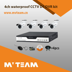 Security Equipment 4CH CCTV Camera and DVR Kits (MVT-K04FH) pictures & photos