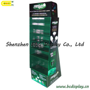 LED Floor Paper Display, Counter Display Stand, Cardboard Display (B&C-A081) pictures & photos