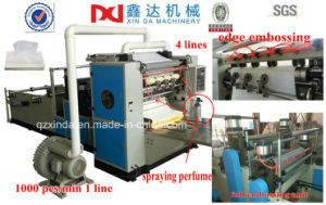 Automatic Perfumed Facial Tissue Making Machine pictures & photos
