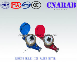 Multi-Jet Dry Type Vane Wheel Pulse Transmitting Cold (Hot) Water Meter (Remote Reading) pictures & photos