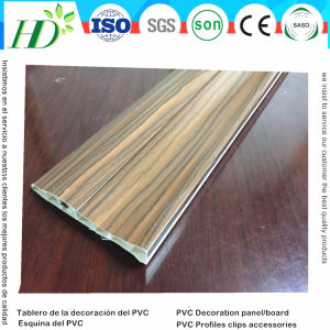 New Design Ceiling /Wall All in One Use PVC Plastic Profiles Esquina Del PVC (RN-156) pictures & photos