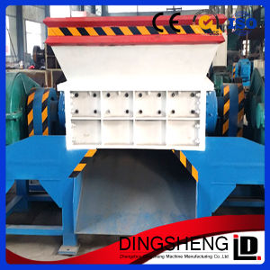 Twin Shaft Used Truck Tire Crusher Machine for Sale pictures & photos