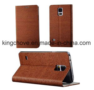 Fashion Good Quality Leather Samsung S5 I9600 Case (KCI37-2) pictures & photos
