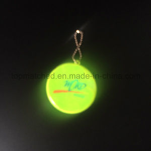 Round Shape PVC Reflecive Hanger for Promotion Gift pictures & photos