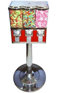 Platinum Triple Candy & Gumball Vending Machine (TR104) pictures & photos