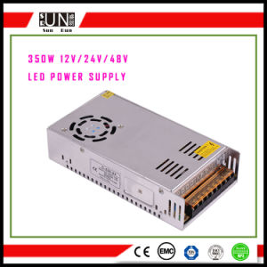 350W LED Strips, LED Street Light Power Supply, 48V 24V 12V 5V Security and Protection Power Supply, Lighting Power 350W, CV12V CV24V LED Driver pictures & photos