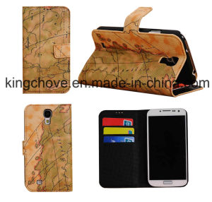Fashion Good Quality Leather Samsung S4 I9500 Case (KCI36) pictures & photos