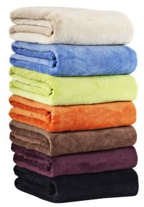 Micro Plush Blanket/ Coral Fleece