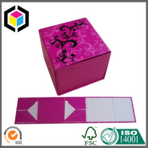 Matte Red Color Print Cardboard Gift Jewelry Storage Box pictures & photos