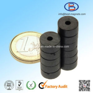 D11xd2.4X4.5 Y30bh High Quality Ring Shape Anisotropic Ferrite Magnets pictures & photos