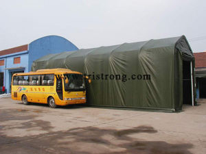 5.5m Span Outdoor Storage Warehouse Middle-Size Portable Garage (TSU-1850) pictures & photos