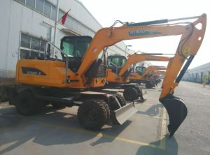 Cheap Wheel Excavator Factory, Wheel Excavator Price pictures & photos