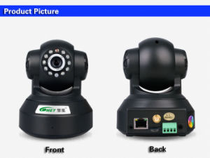 H264.2.4G Wireless Indoor WiFi CCTV Surveillance PTZ Camera (HX-W2) pictures & photos