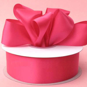 Hot Sale Double Faced Satin Ribbon Custom Color pictures & photos