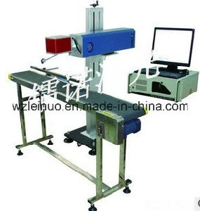 20W Portable Optical Fiber Laser Marking Machine (fly mode) pictures & photos