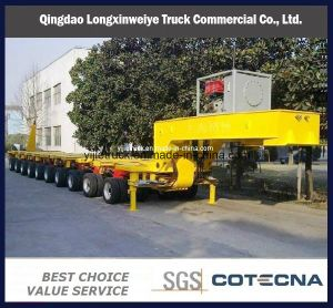 100-200ton Heavy Duty Transportation Modular Hydraulic Semi Trailer pictures & photos