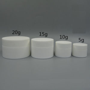5g Plastic Cream Jar 10g Plastic Cream Jar 20g Plastplastic Cream Jaric Cream Jar 30g Plastic Cream Jar 40g 50g Plastic Cream Jar pictures & photos