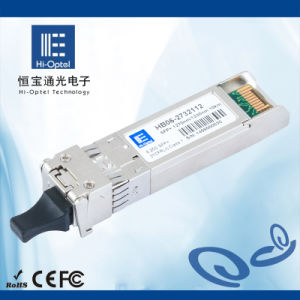 SFP Optical Transceiver 155M~10G Bi-Di/Dulex Up to 120KM Made in China pictures & photos