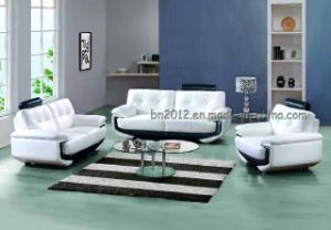Living Room Genuine Leather Sofa (SBL-381) pictures & photos