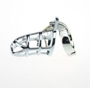 Latest Designs Metal Stainless Steel Adjustable Chastity Lock for Man pictures & photos