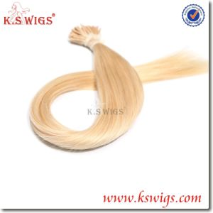 I-Tip Keratin Hair Virgin Remy Indian Hair Extensions pictures & photos