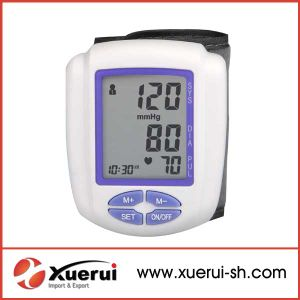 Wrist-Type Blood Pressure Monitor, FDA Approved pictures & photos
