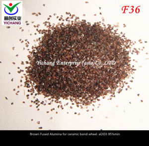 Brown Aluminum Oxide #36 for Abrasive Media pictures & photos