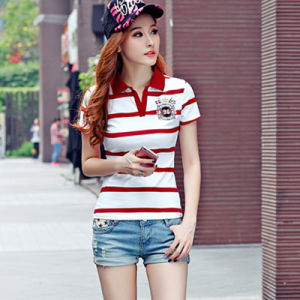 China Supplier Fashion 100% Cotton Custom Polo Shirt High Quality Dri Fit Short Sleeve Custom Polo Shirt pictures & photos