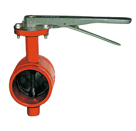 Trench-Type Butterfly Valve pictures & photos