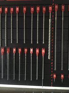 Black Oxide SDS Plus Shank Electric Hammer Drill Bits (JL-SPSSB) pictures & photos