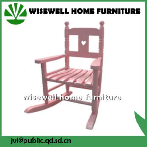 Wooden Kids Traditional Rocking Chair (W-G-C1075) pictures & photos