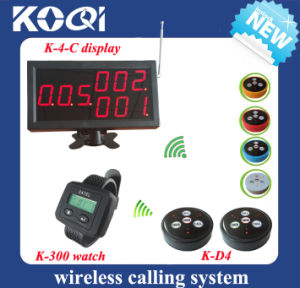 CE Approved 433.92MHz Restaurant Wireless Service Calling System pictures & photos