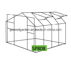 Growell Garden Greenhouse (8ft* 8ft SP808) pictures & photos