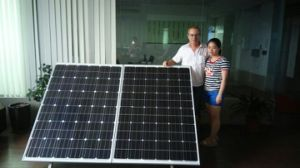 Mini Solar Tracker System for 2 Panels pictures & photos