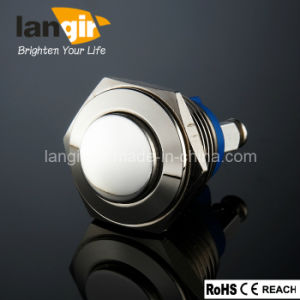 Langir High Quality Nickel Plated Push Button (V16-H/1/N) pictures & photos