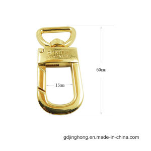 Zinc Alloy Logo Customized Buckle for Bags pictures & photos