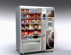 10 Goods Delivery Channels Wall Mounted Small Vending Machine/Mini Vending Machine/Condom Vending Machine/Cigarette Dispenser pictures & photos