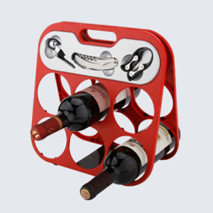 Six Bottle Wine Rack pictures & photos