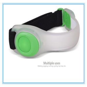 Customed LED Running Silicone Arm Belts for Protection pictures & photos