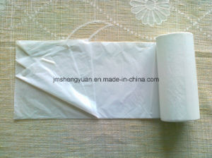 HDPE Plain Star Sealed Plastic Garbage Bag pictures & photos