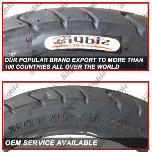 ISO9001: 2008 High Quality 2.75-18 4pr/6pr Vee Rubber Motorcycle Tire pictures & photos