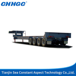 Drilling Platform Exclusive Lowbed Semi Trailer pictures & photos