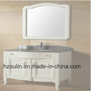 White Wooden Bathroom Furniture (BA-1144) pictures & photos