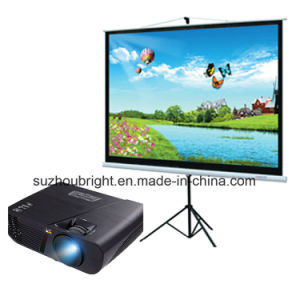 Hot Sale Multimedia Projector and Screen