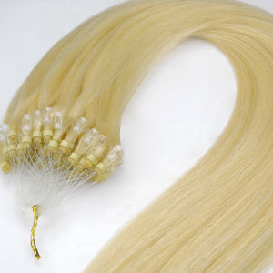 Top Quality European Remy Micro Ring/Loop Human Hair Extension pictures & photos