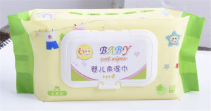 80 PCS fragrance Free Chemical Free Baby Soft Wipes pictures & photos