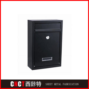 Durable Anti-Thelf Black Custom Mailboxes pictures & photos