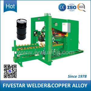 210L Steel Drum 3 Phase Semi-Automatic Welding Making Machine